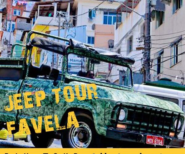 JEEP TOUR FAVELA